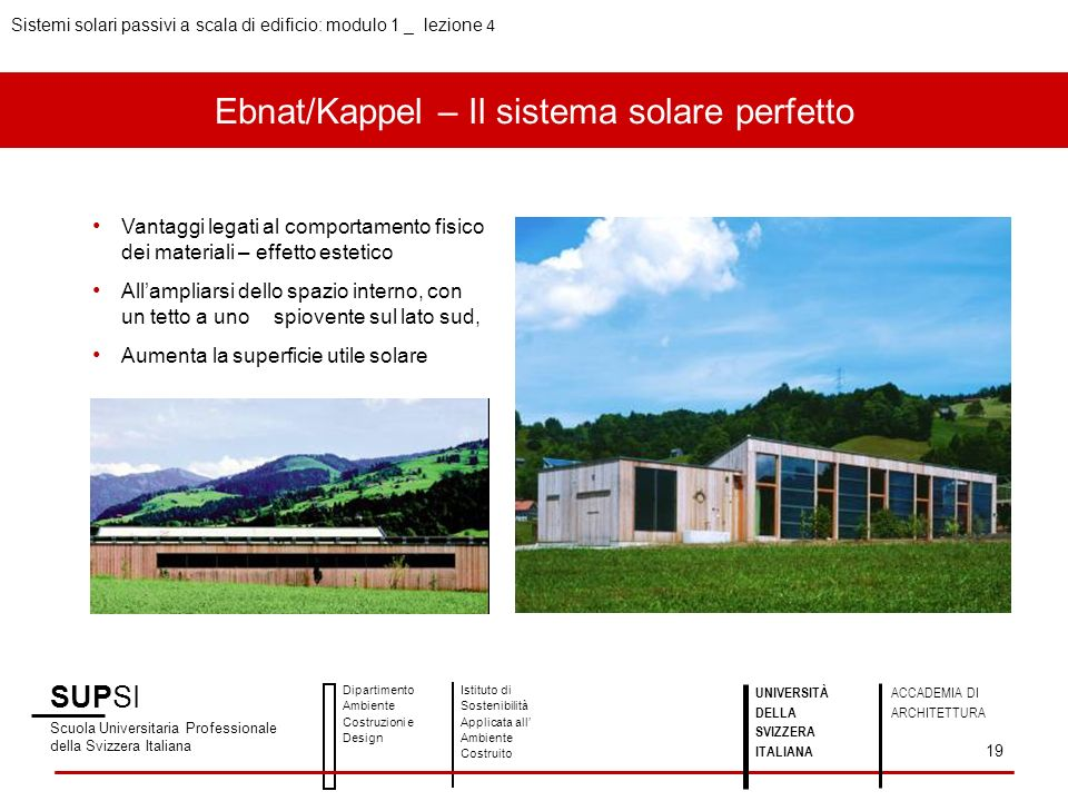 Ebnat/Kappel – Il sistema solare perfetto