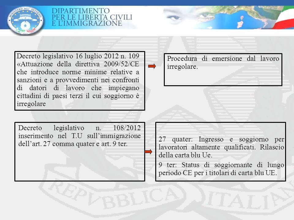 Decreto legislativo 16 luglio 2012 n