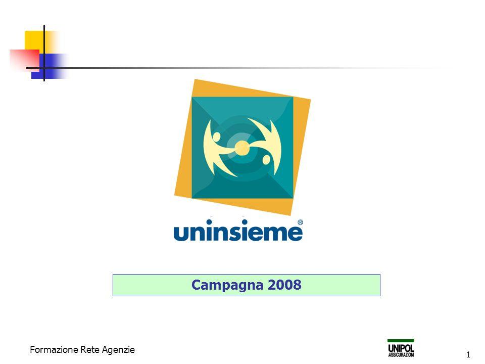 Campagna 2008 Formazione Rete Agenzie