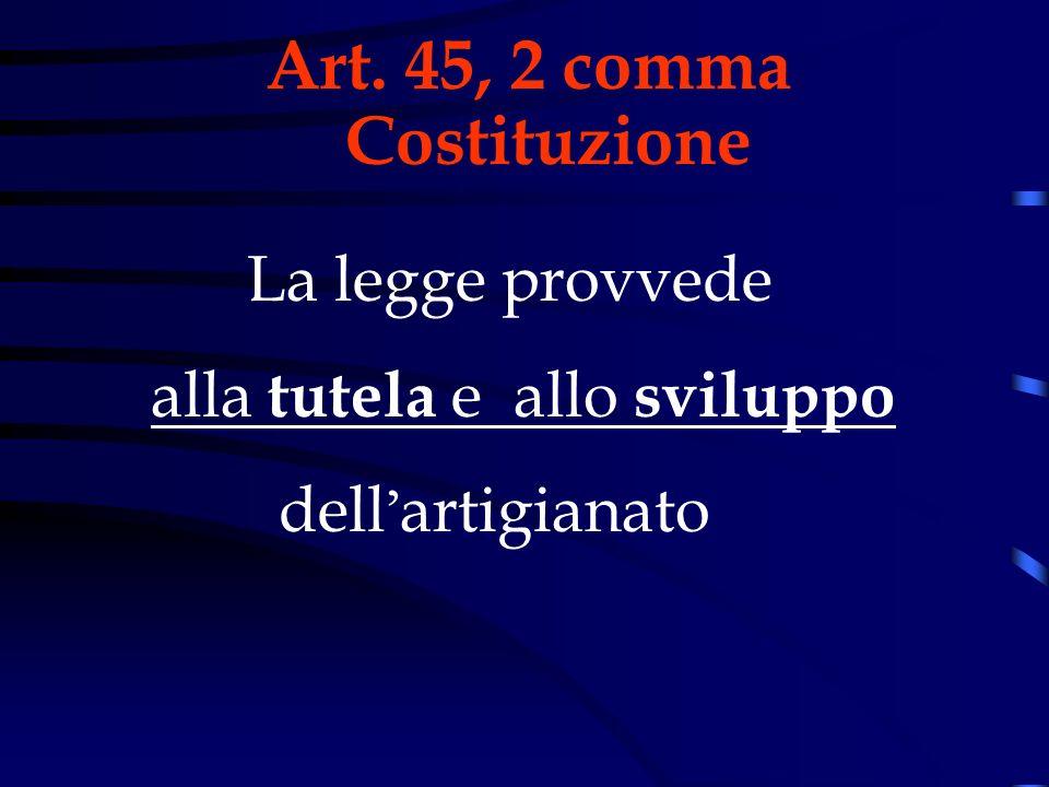 Art. 45, 2 comma Costituzione