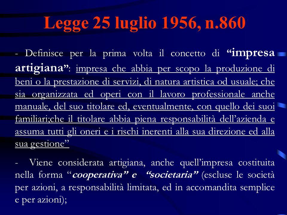 Legge 25 luglio 1956, n.860
