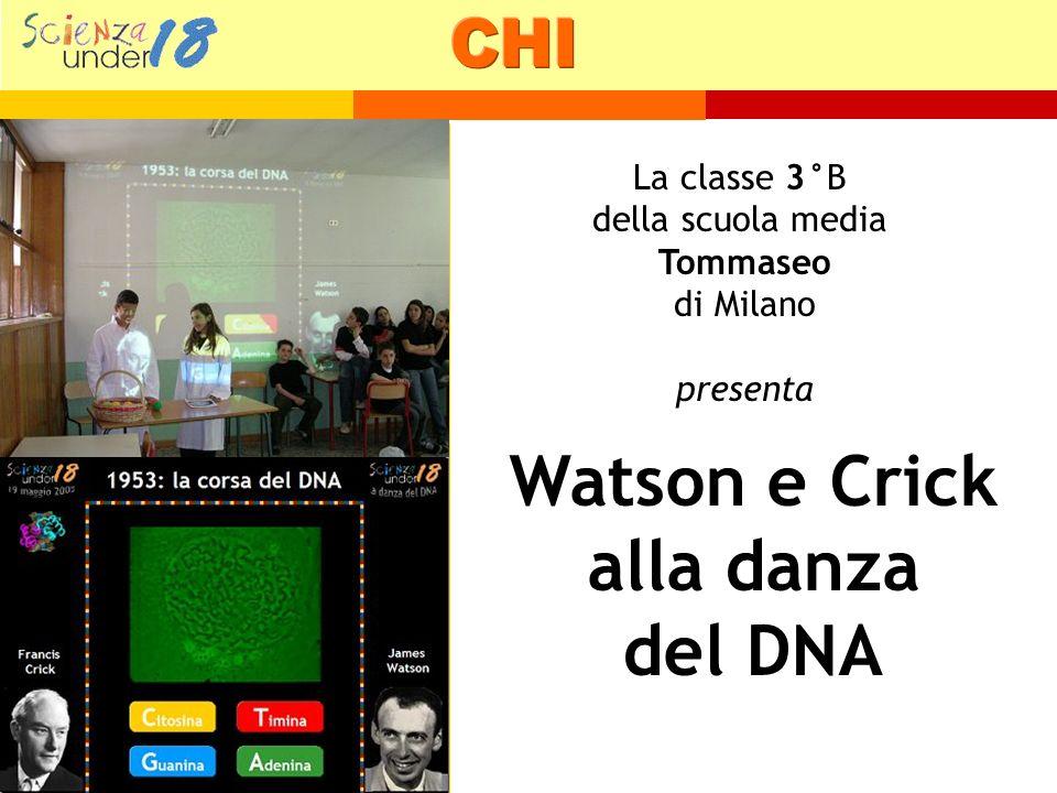 Watson e Crick alla danza del DNA
