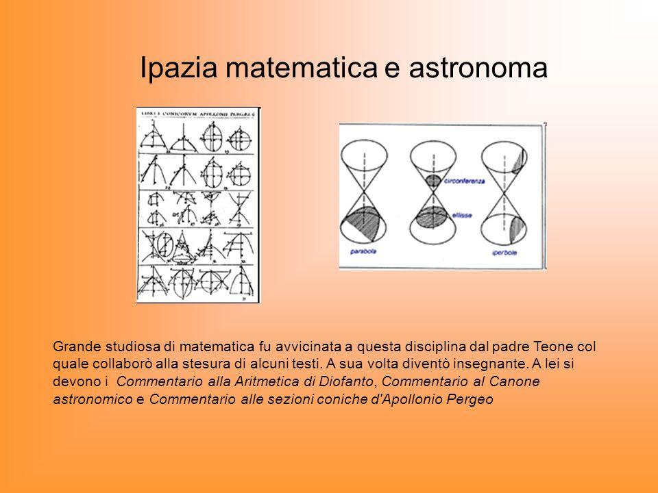 Ipazia matematica e astronoma