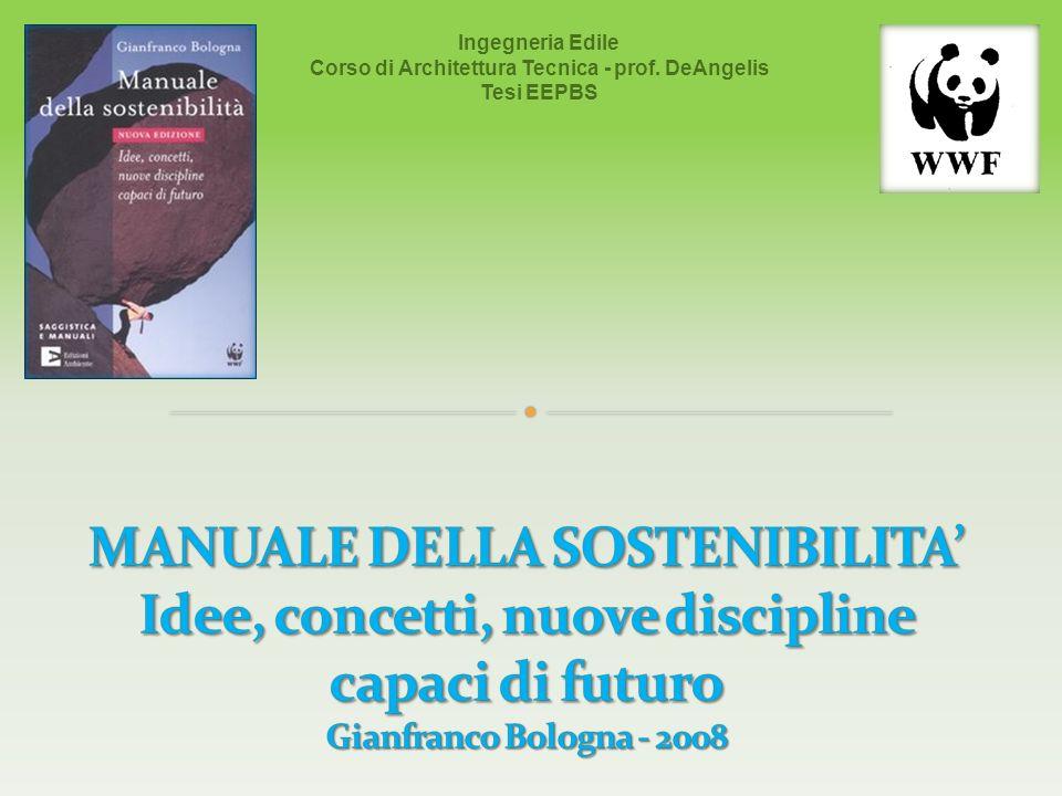 Corso di Architettura Tecnica - prof. DeAngelis