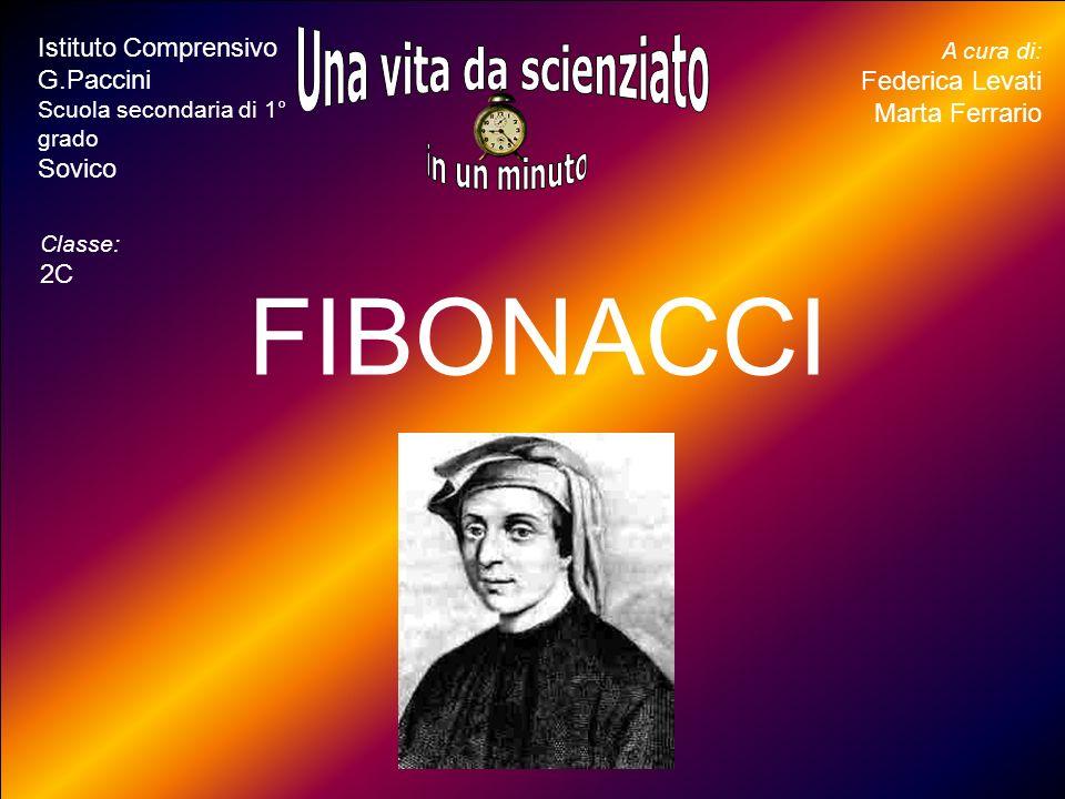 FIBONACCI Una vita da scienziato in un minuto inserite il ritratto -