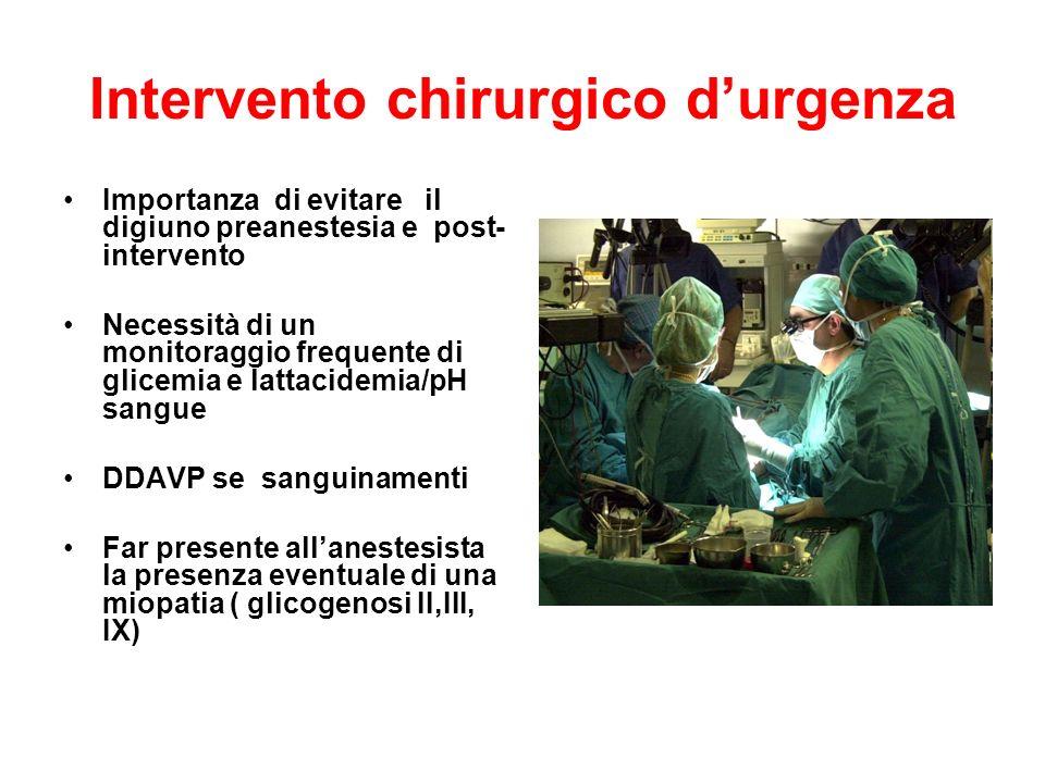 Intervento chirurgico d'urgenza