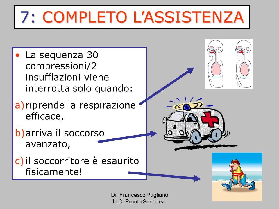 7: COMPLETO L'ASSISTENZA