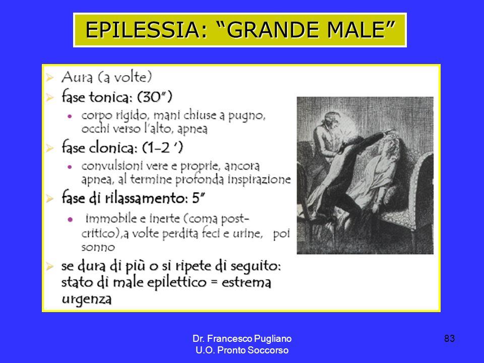 EPILESSIA: GRANDE MALE