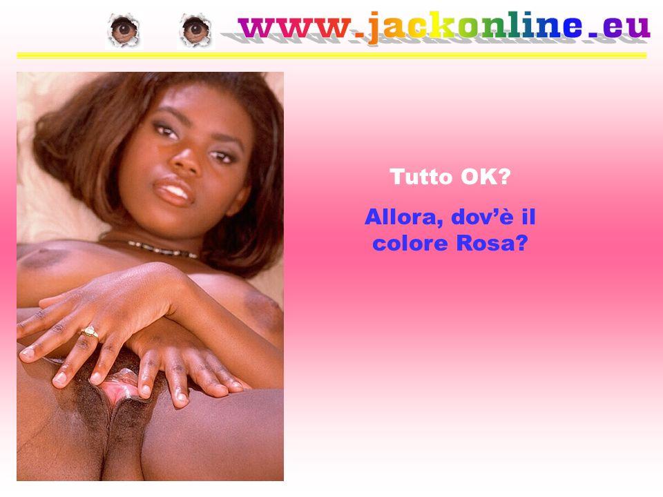 Allora, dov'è il colore Rosa