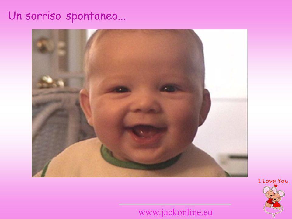 Un sorriso spontaneo... www.jackonline.eu