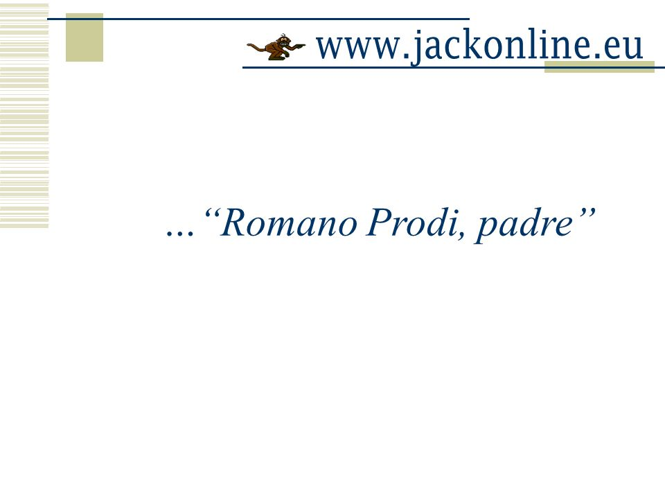 … Romano Prodi, padre