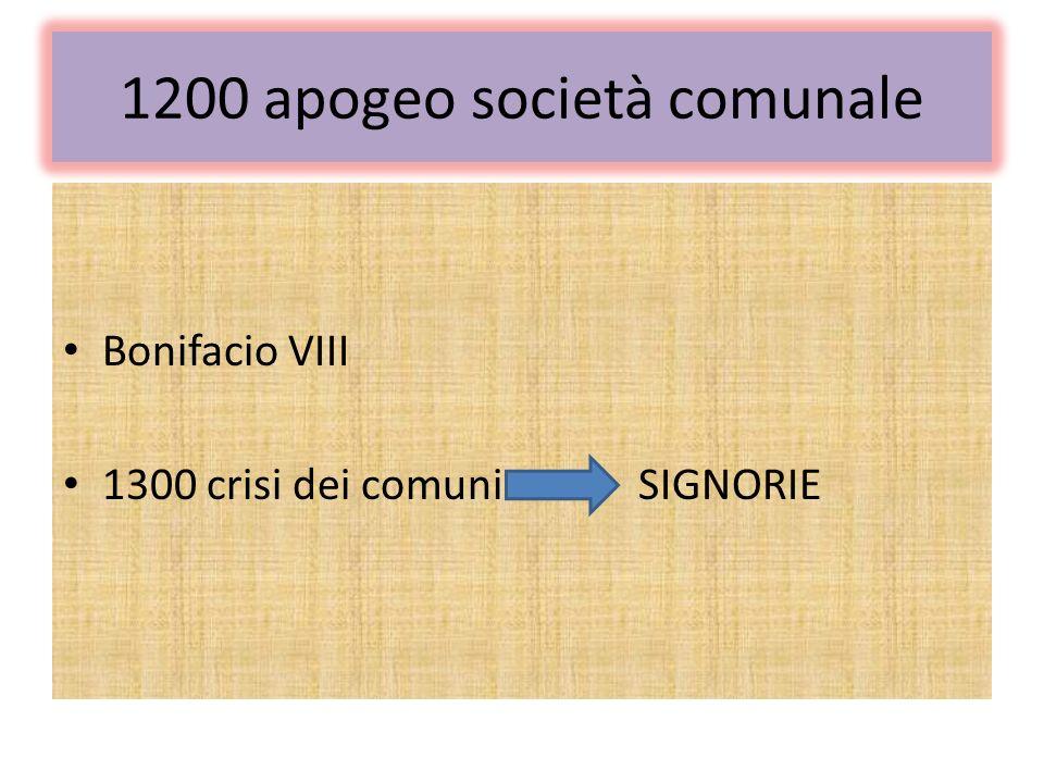 1200 apogeo società comunale