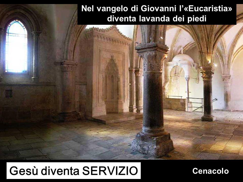 Nel vangelo di Giovanni l'«Eucaristia» diventa lavanda dei piedi