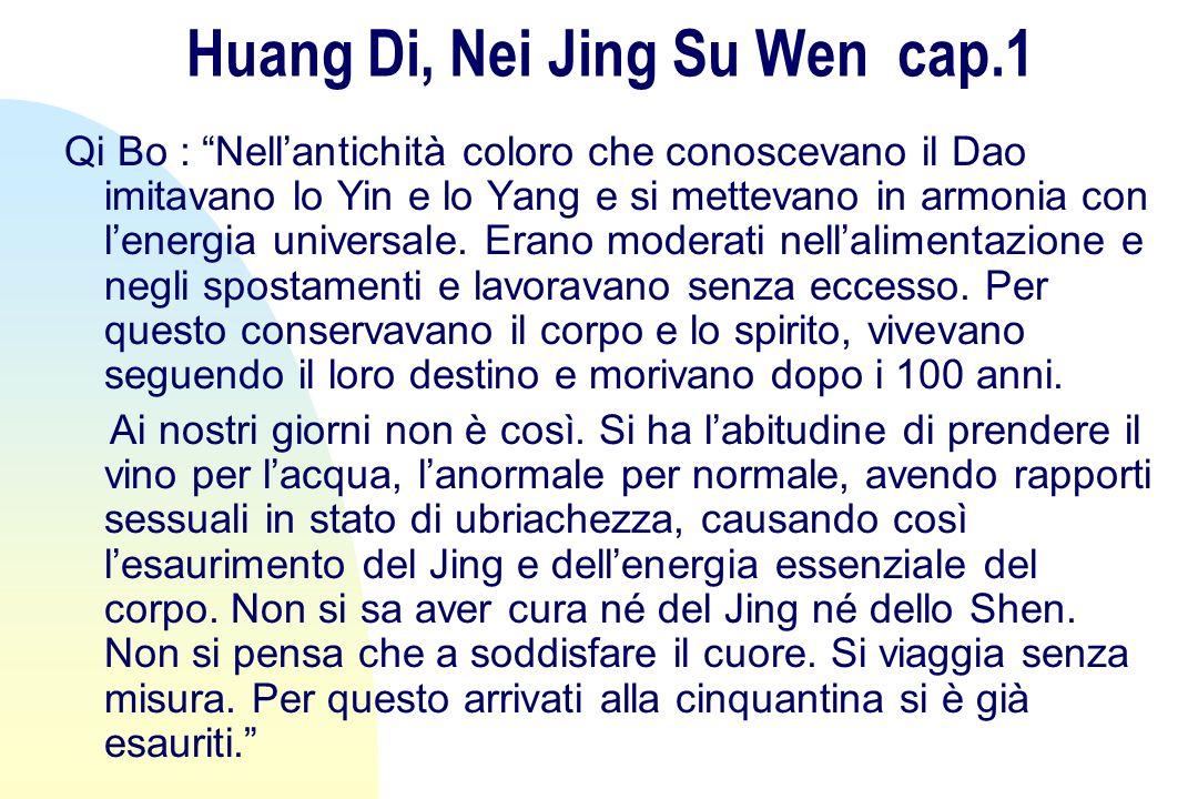 Huang Di, Nei Jing Su Wen cap.1