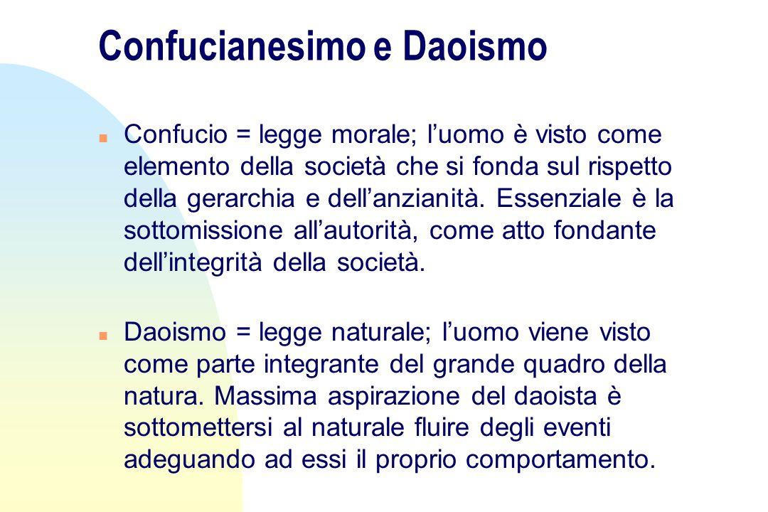 Confucianesimo e Daoismo