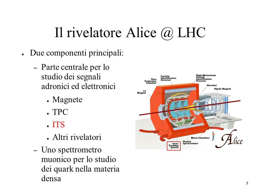 Il rivelatore Alice @ LHC