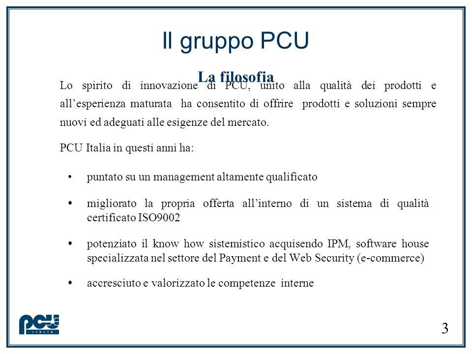 Il gruppo PCU La filosofia
