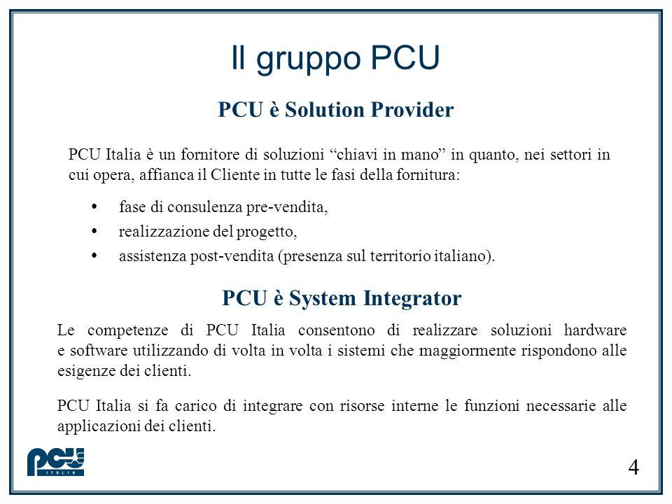 PCU è System Integrator