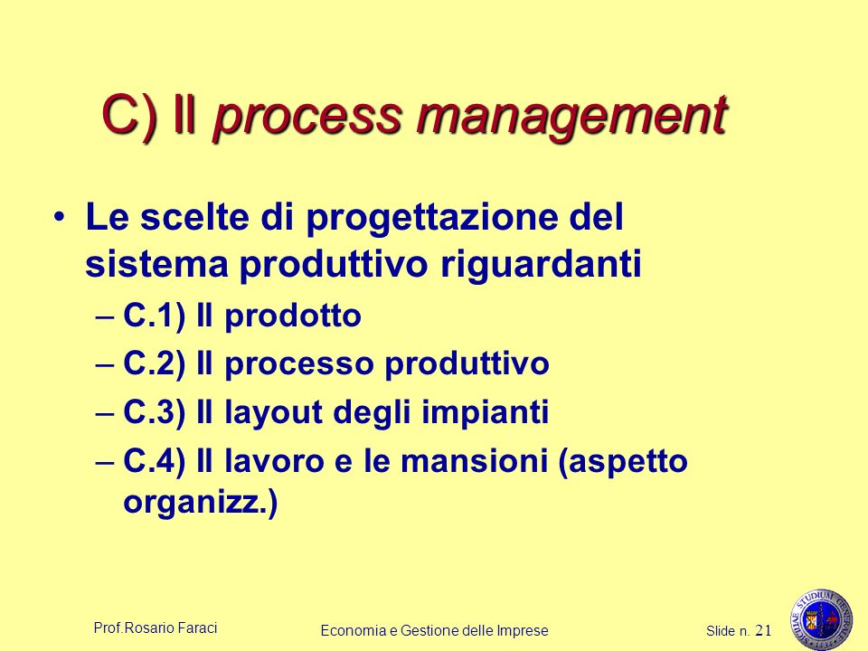 C) Il process management