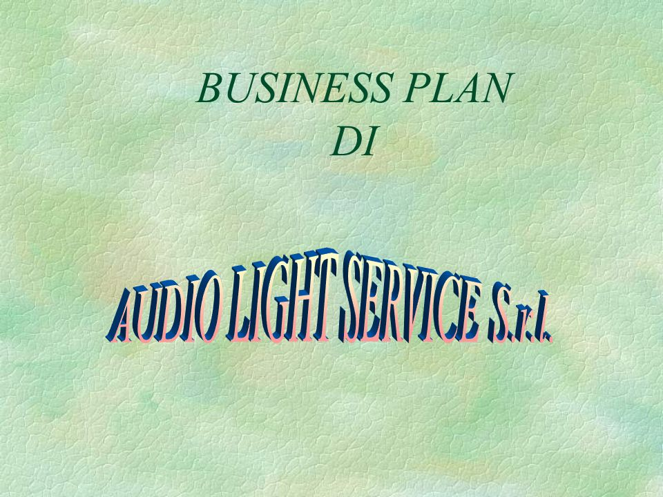 AUDIO LIGHT SERVICE S.r.l.