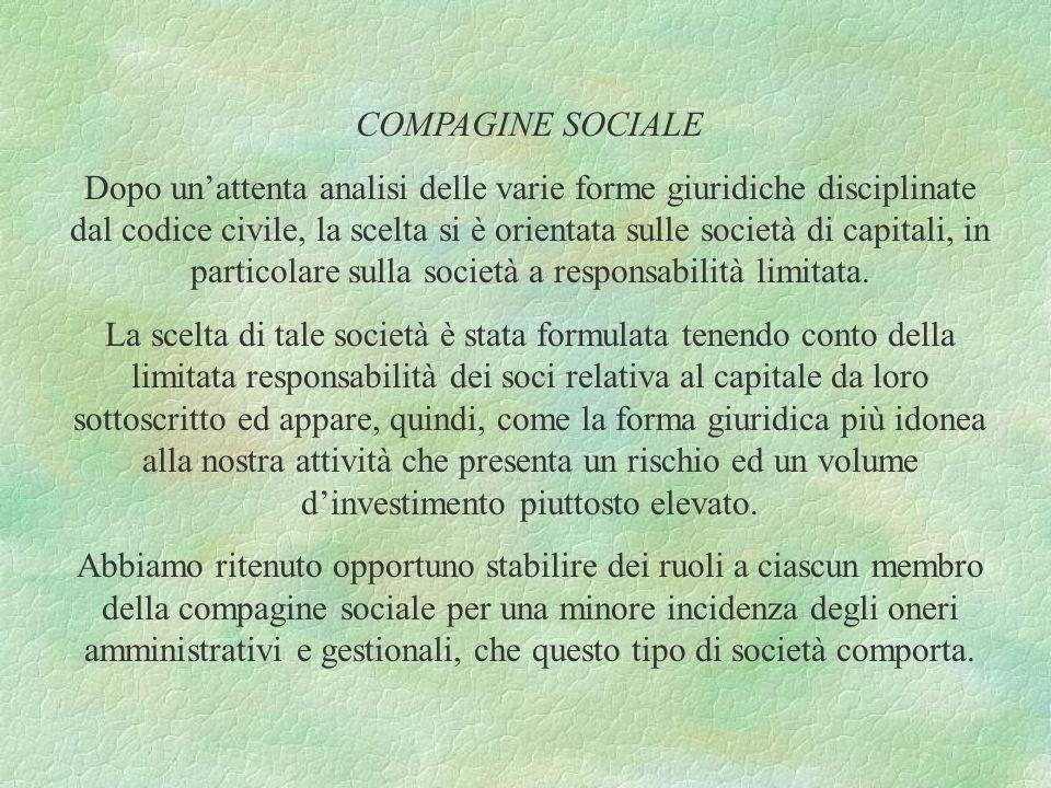 COMPAGINE SOCIALE