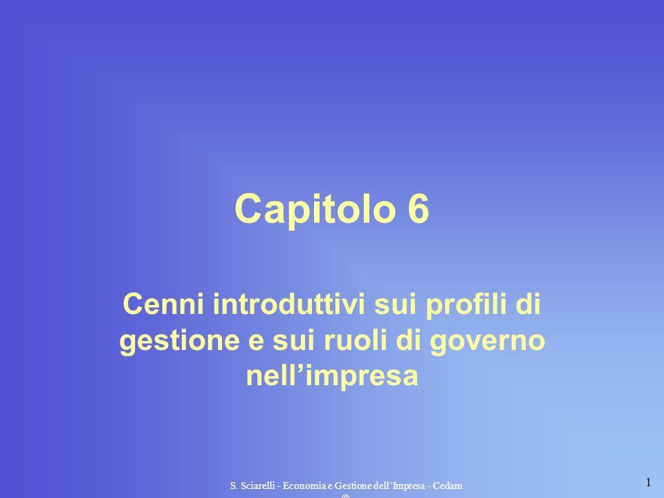 S. Sciarelli - Economia e Gestione dell'Impresa - Cedam 