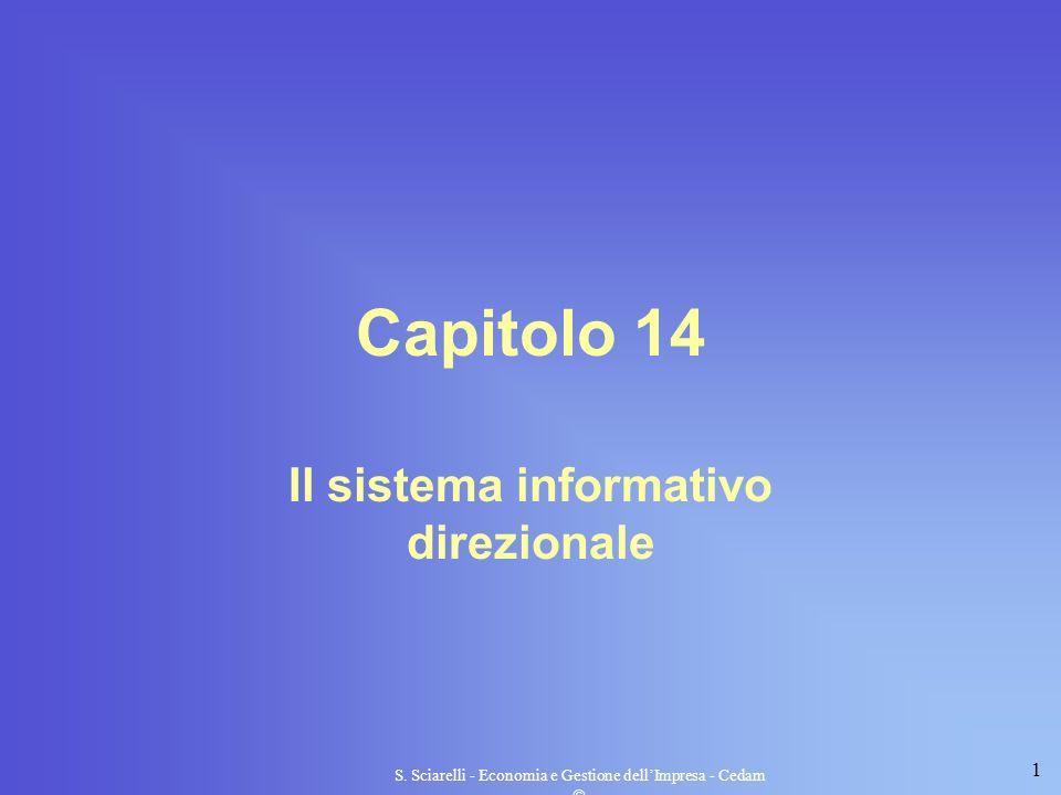 Il sistema informativo direzionale