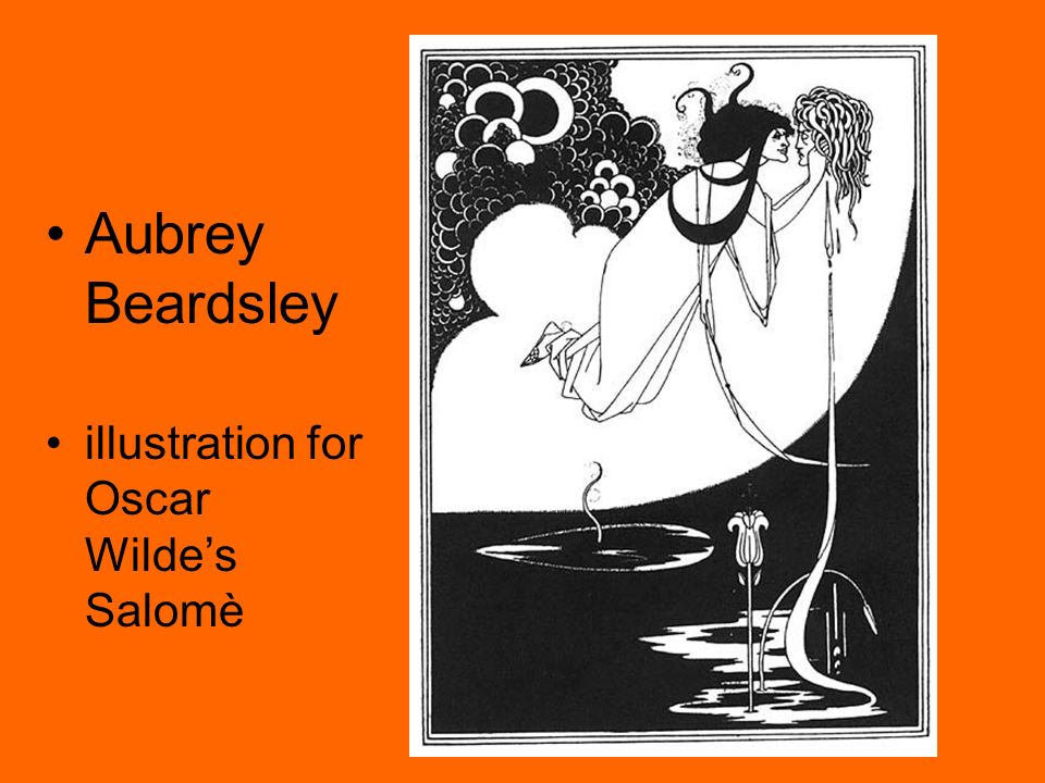 Aubrey Beardsley illustration for Oscar Wilde's Salomè