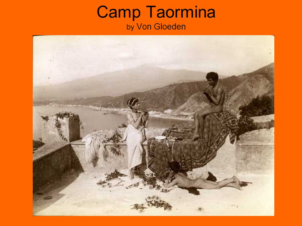 Camp Taormina by Von Gloeden