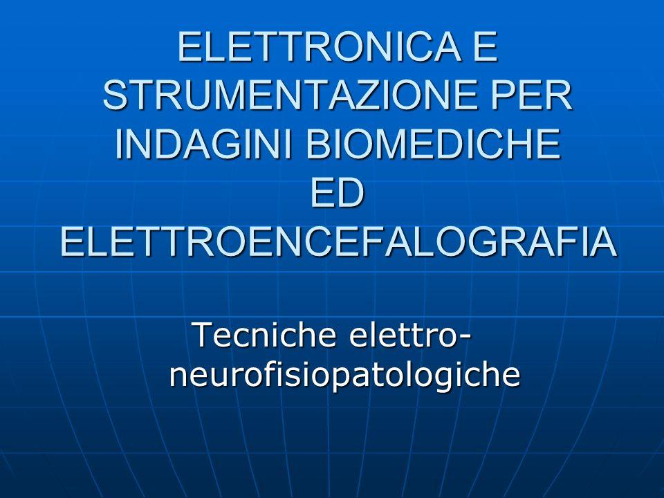 Tecniche elettro-neurofisiopatologiche