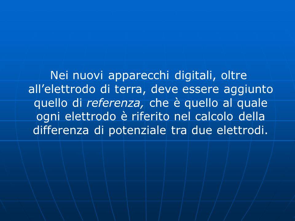 Nei nuovi apparecchi digitali, oltre