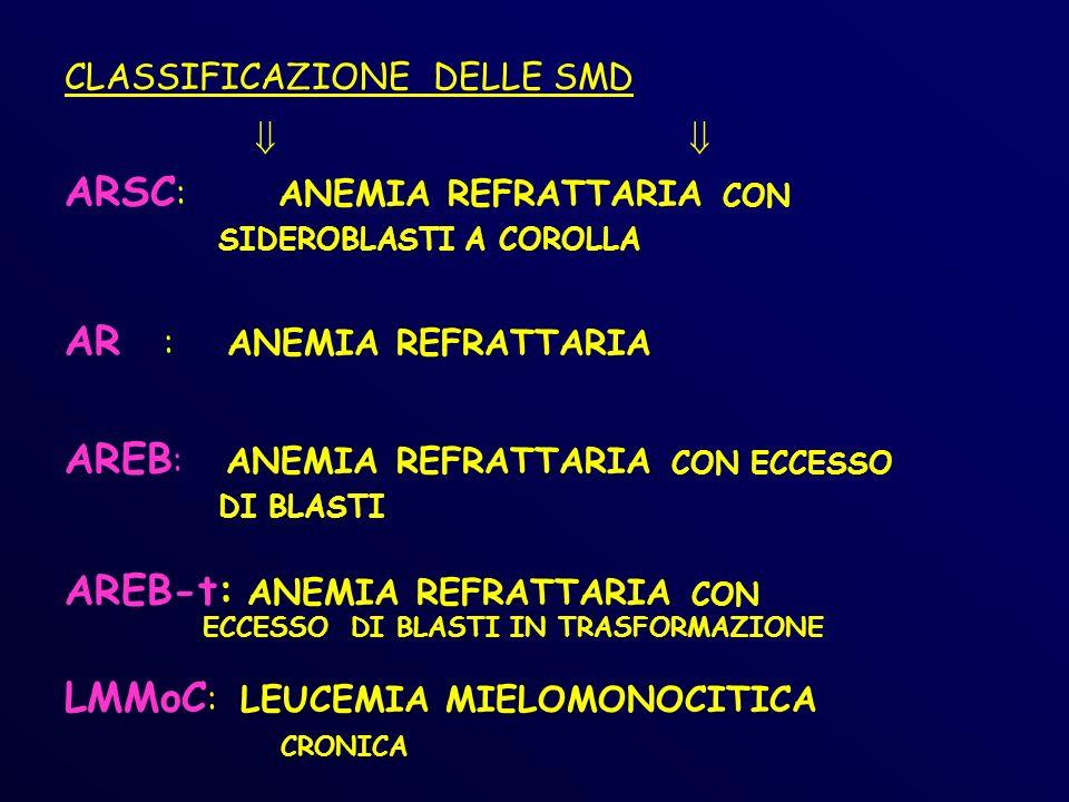ARSC: ANEMIA REFRATTARIA CON
