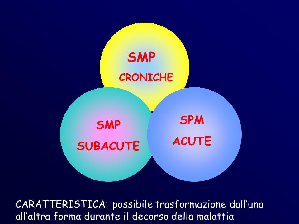 SMP SPM SMP ACUTE SUBACUTE CRONICHE