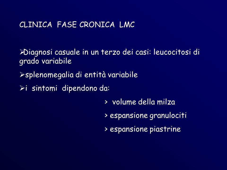 CLINICA FASE CRONICA LMC