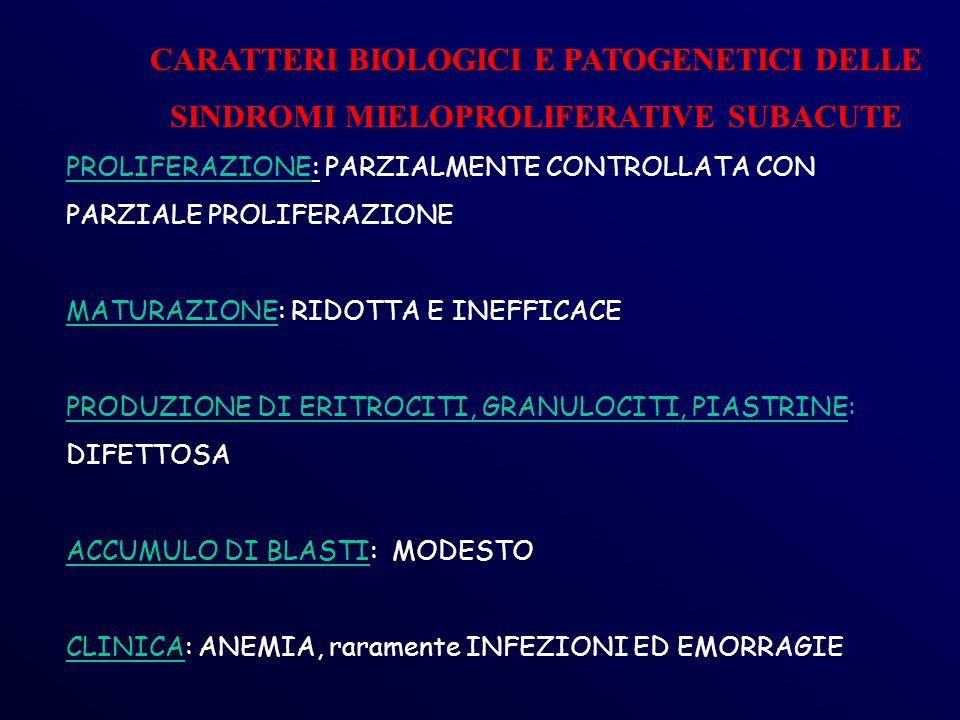 CARATTERI BIOLOGICI E PATOGENETICI DELLE