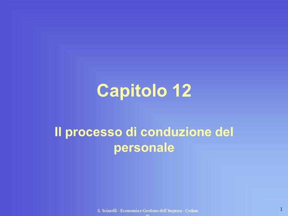 Il processo di conduzione del personale