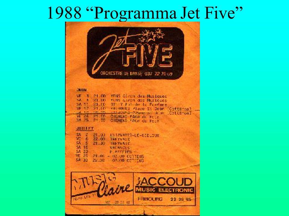 1988 Programma Jet Five