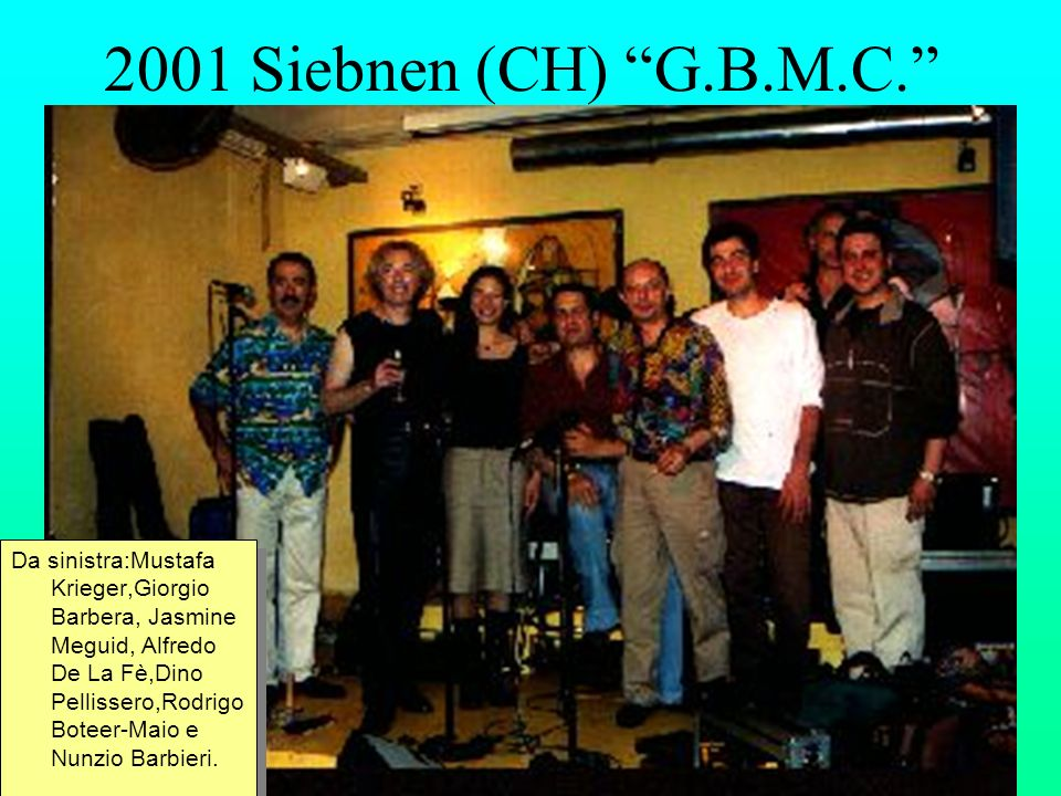 2001 Siebnen (CH) G.B.M.C.