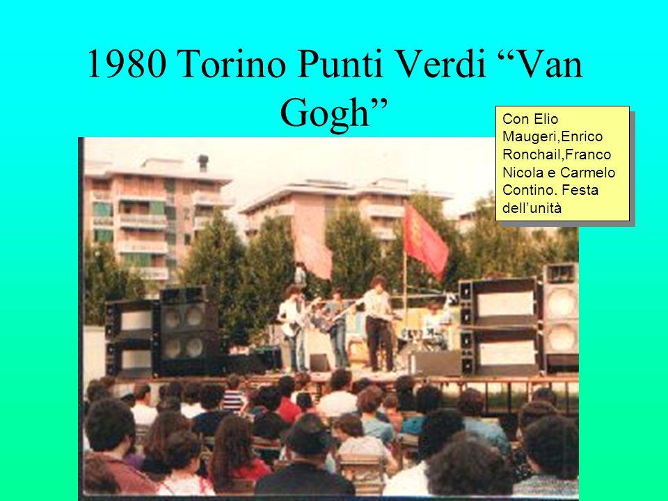 1980 Torino Punti Verdi Van Gogh