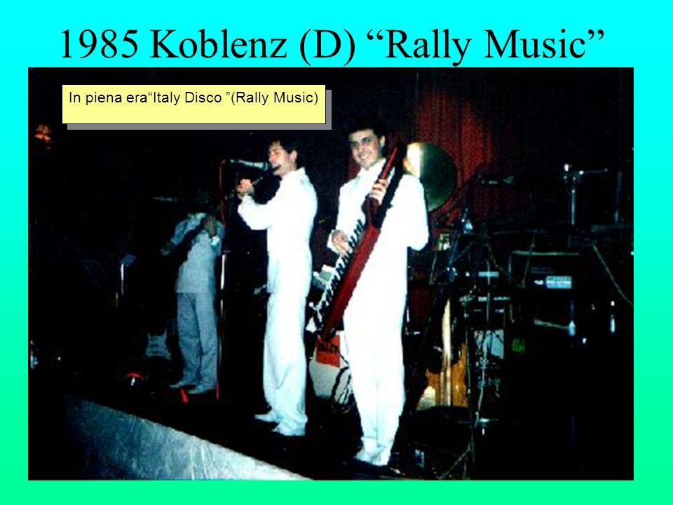 1985 Koblenz (D) Rally Music