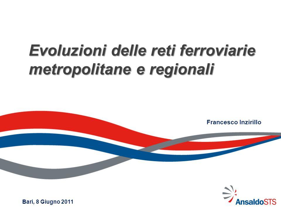 Evoluzioni delle reti ferroviarie metropolitane e regionali