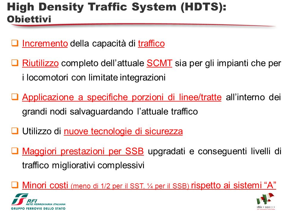 High Density Traffic System (HDTS):