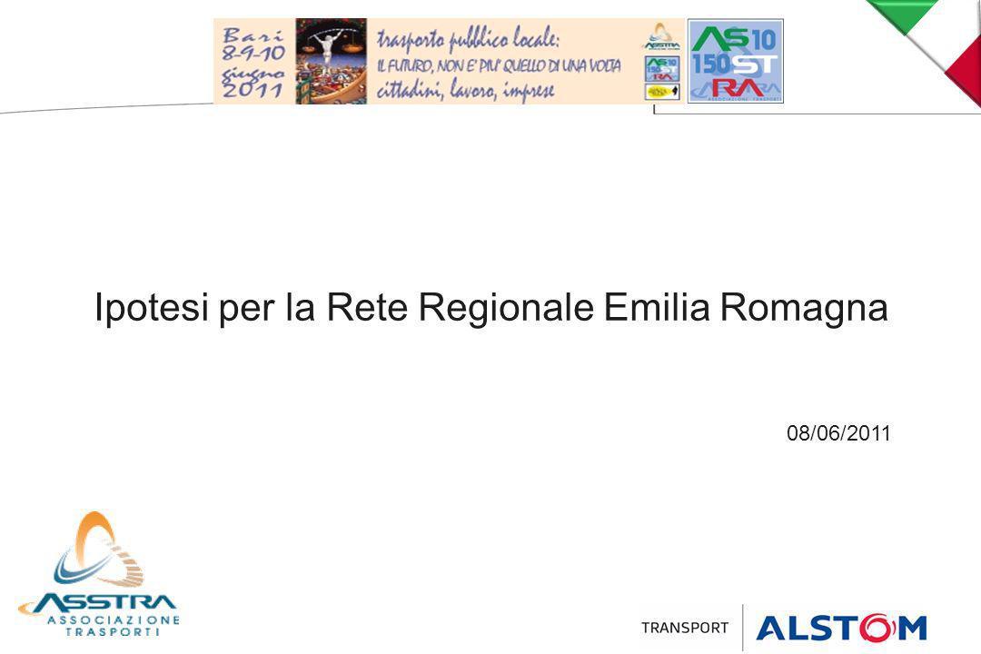 Ipotesi per la Rete Regionale Emilia Romagna