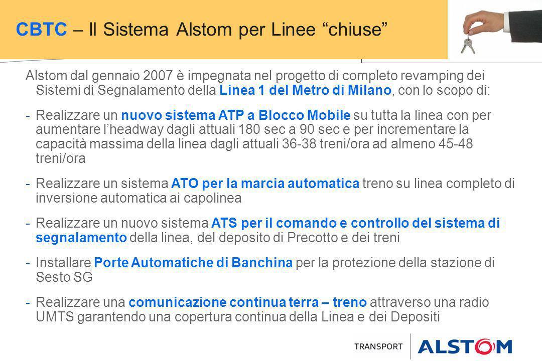 CBTC – Il Sistema Alstom per Linee chiuse