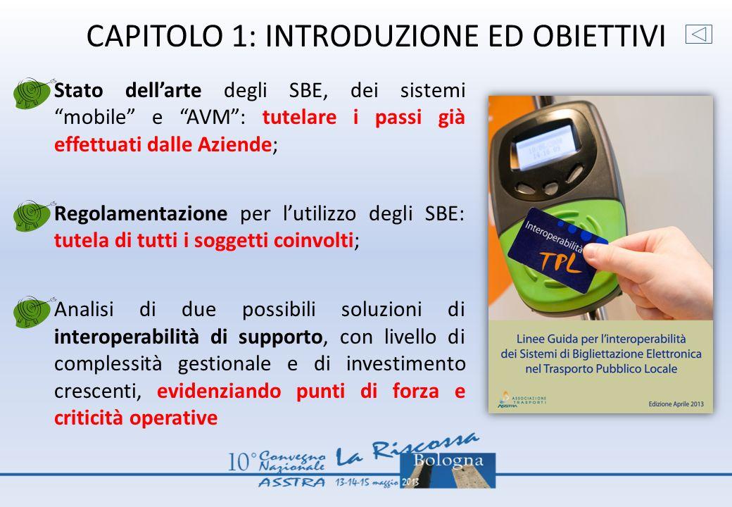 CAPITOLO 1: INTRODUZIONE ED OBIETTIVI