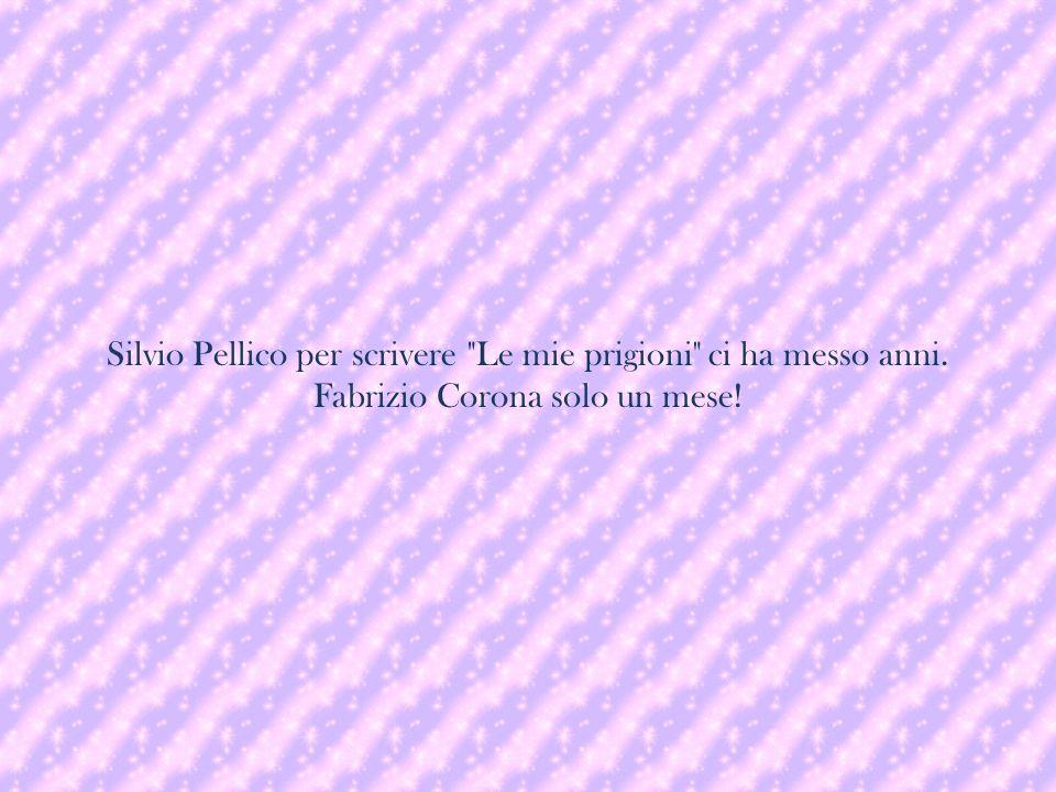 Silvio Pellico per scrivere Le mie prigioni ci ha messo anni