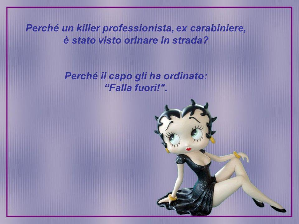 Perché un killer professionista, ex carabiniere,