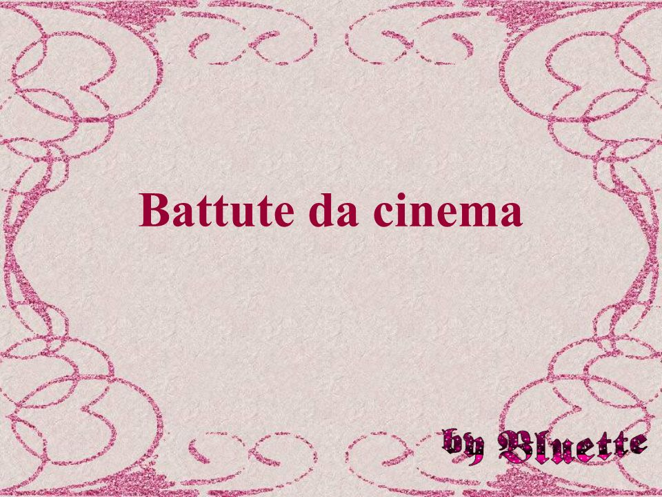 Battute da cinema
