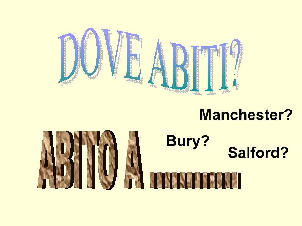 Manchester Bury Salford
