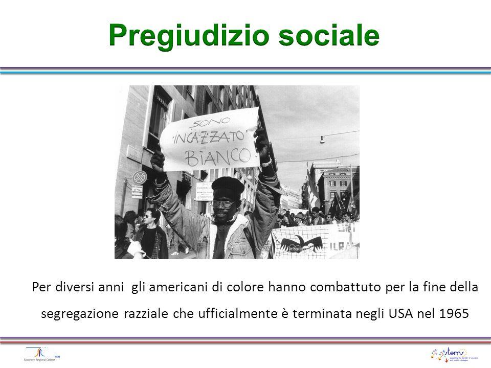 Pregiudizio sociale